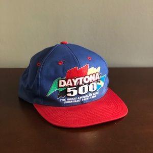 VINTAGE NASCAR 90s Daytona 500 hat